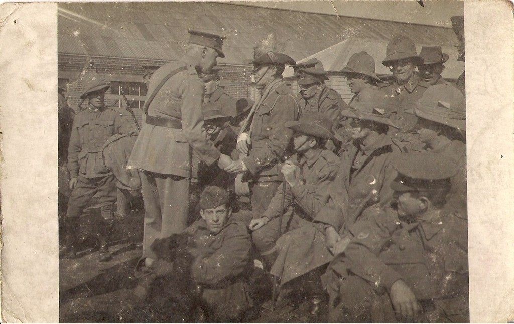 William Andrew Newland with Govenour of Victoria 1915.jpg