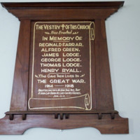 WW1 Honor Board in the Christ Church - Little River.jpg
